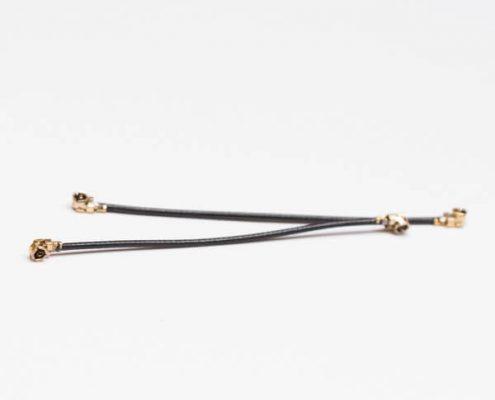 射频同轴电缆组件RF1.13黑色线材双头打IPEX接口